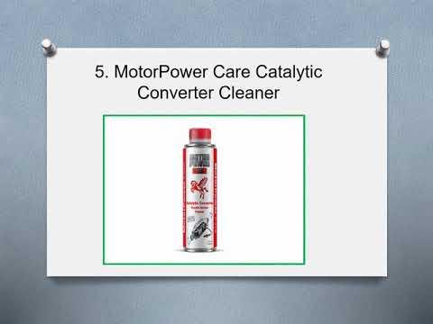 Top 5 Best Catalytic Converter Cleaner in 2019 Reviews