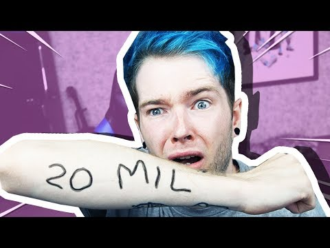 I'm Getting a Tattoo Designed by YOU When We Hit 20 MILLION SUBSCRIBERS..