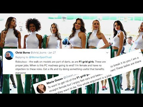 F1 does away with grid girls, feminists celebrate as women loose jobs
