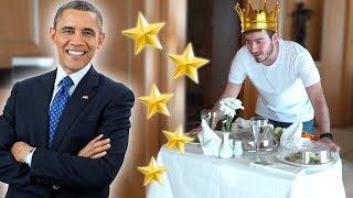 KRAL DAİRESİNDE 1 GÜN (Obama'nın Kaldığı Oda)