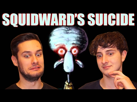 PAUL AND TOM REACT TO ' squidward's suicide (red mist) '