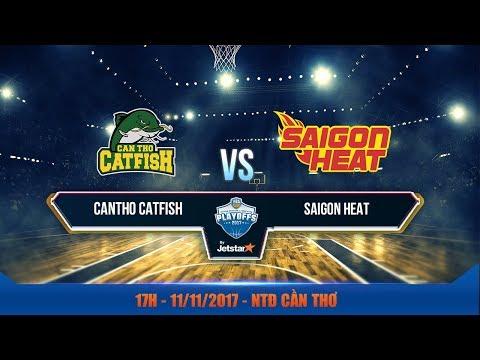 #Livestream VBA 2017 || Bán Kết 1 - Game 2: Cantho Catfish vs Saigon Heat 11/11| VBA 2017 by Jetstar