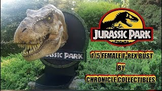 Chronicle Collectibles Jurassic Park Female T-Rex 1/5 Bust