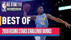 BEST DUNKS from the 2018 Rising Stars | Presented by Mtn Dew Kickstart