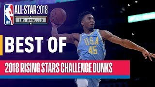connectYoutube - BEST DUNKS from the 2018 Rising Stars | Presented by Mtn Dew Kickstart