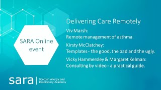 SARA - Delivering Care Remotely