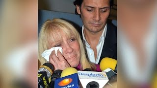 Yuri vivió momentos de dolor tras la sorpresiva muerte de su madre