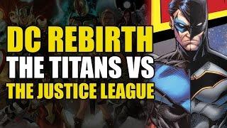 The Titans vs The Justice League (Titans Rebirth Annual: Legacy)