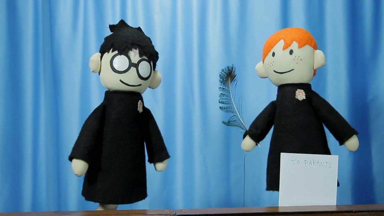 Potter Puppet Pals: Ron's Parents - YouTube