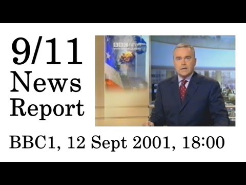 9/11 News Report—BBC1 (12 September 2001, 1800)