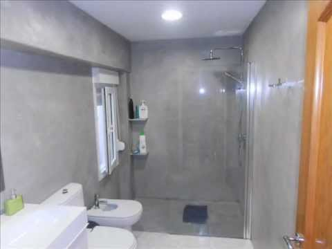 Tadelakt bahtroom renovation. Bad Renovierung. Reformar el baño con Easy Tadelakt.