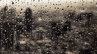 Regenprasseln am Fenster - Stadtgewitter und Unwettergeräusche zum Einschlafen