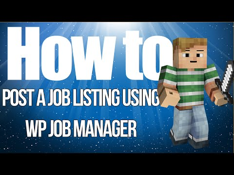 How To Post Job Listing On WP Job Manager