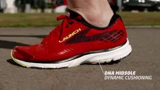 brooks running shoes   launch 3