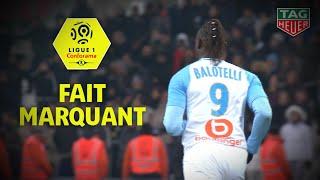 Premières minutes et premier but pour Balotelli avec l'OM! Ligue 1 Conforama / 2018-19