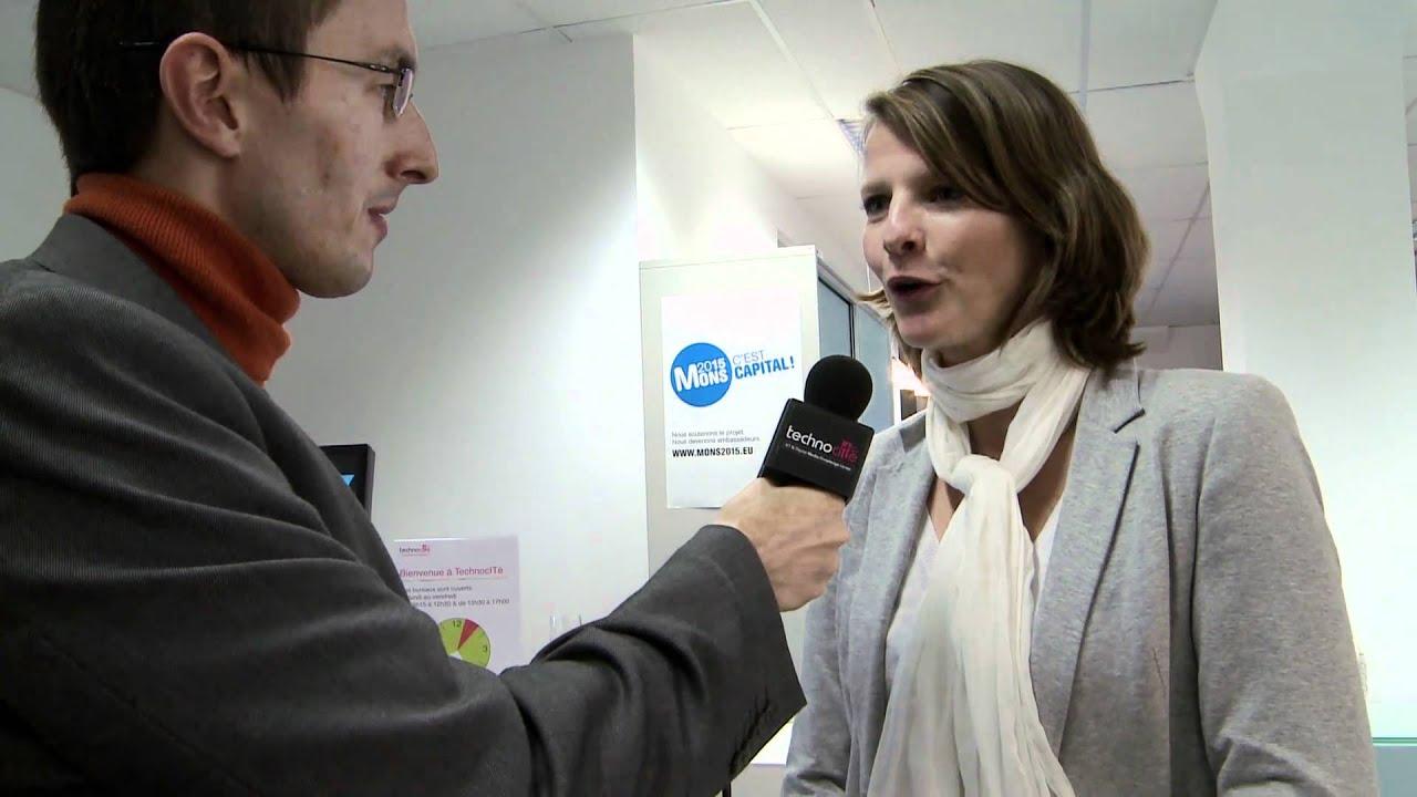 6ac31574d8dd Interview Marie Noble - Inauguration de TechnocITé Initialis - YouTube