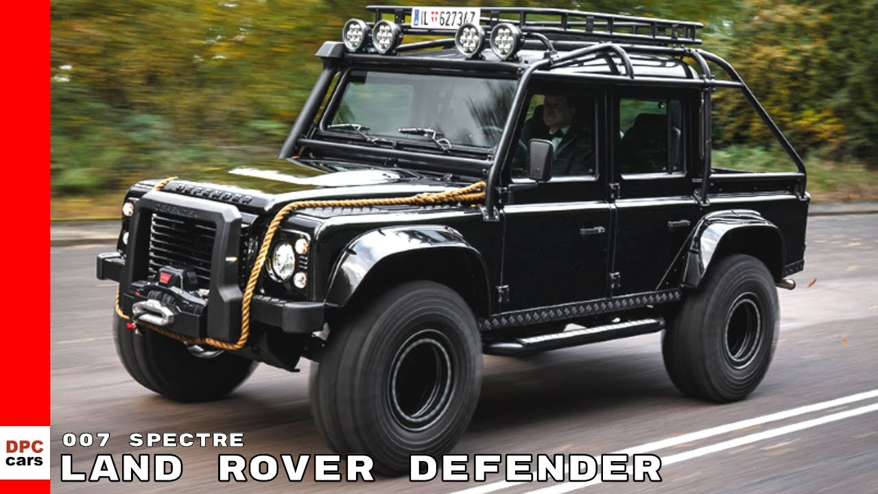 land rover defender from james bond spectre youtube