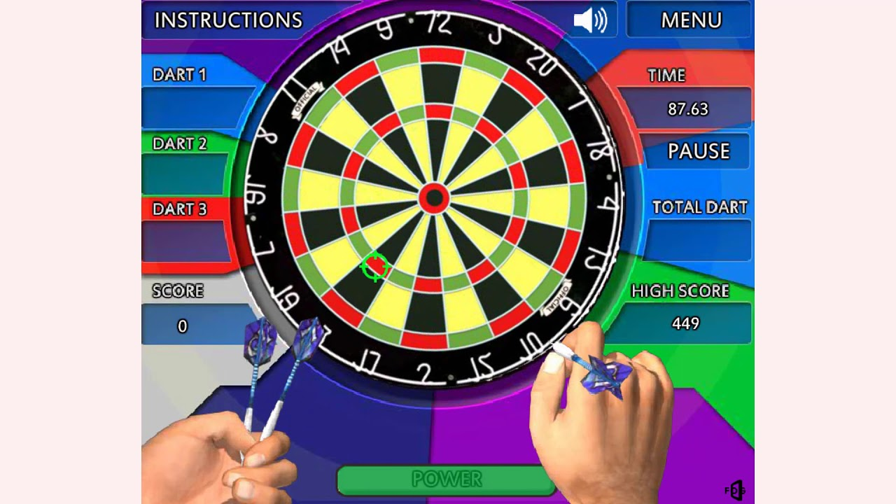 How To Play Crazy Darts Game Free Online Games Mantigames Com