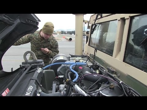 U.S. Marines HUMVEE Inspection - 'Limited Technical Inspection'