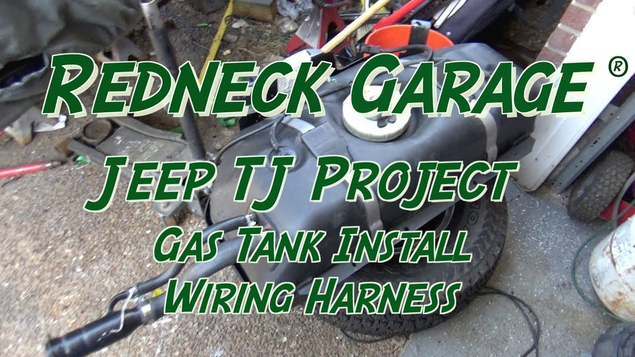 small resolution of jeep wrangler tj project gas tank install wiring harness