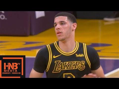 Los Angeles Lakers vs Miami Heat 1st Half Highlights / March 16 / 2017-18 NBA Season