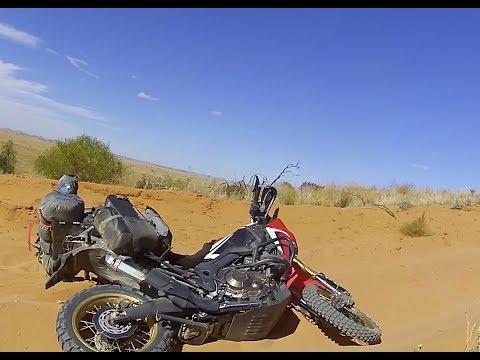 Africa Twin in the Desert Sand - Big Bikes, Deep Sand!