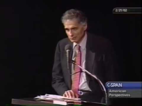 "Ralph Nader vs Newt Gingrich Debate ""Power in the New Millennium"""