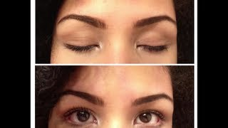 How I: Fill In My Eyebrows Thumbnail