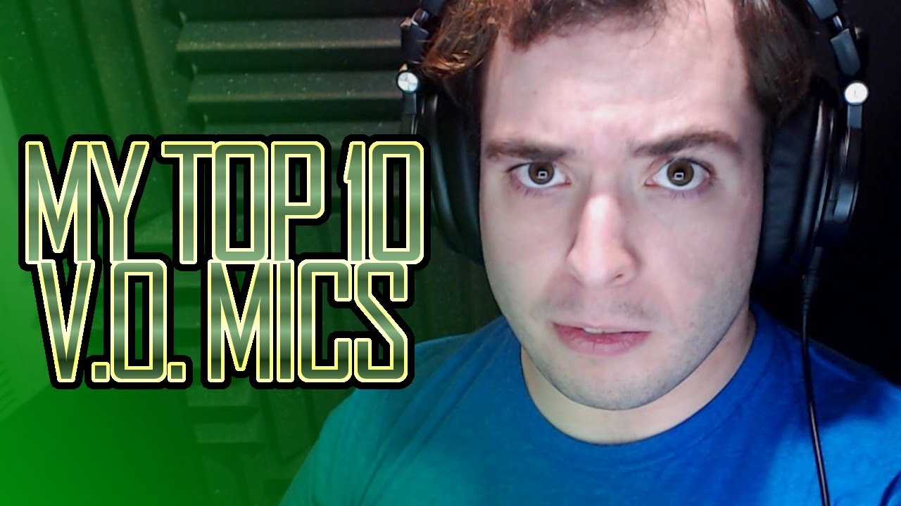 My TOP 10 Mics For Voice Over