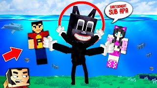 NOUL CARTOON CAT Subacvatic in MINECRAFT !