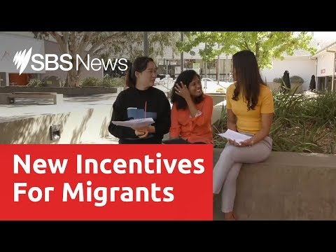 Promised Incentives For Migrants To Live And Work In Regional Australia