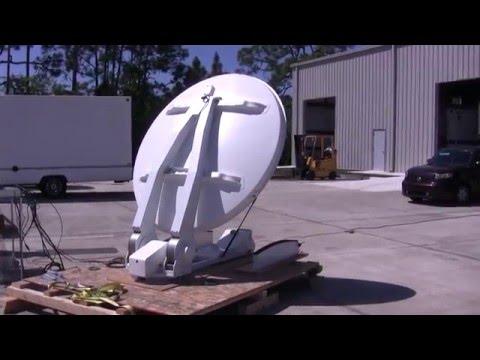 Refurbishing AVL 1.8m News Gathering Antenna