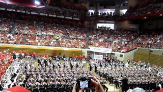 OSUMB Skull Session 9/3/2011 vs. Akron. Eternal Father.  The Navy Hymn.