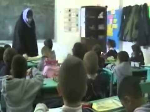 Circassian school & kindergarten in Jordan.wmv
