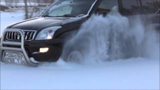 Off road 4х4 Toyota Land Cruiser 120