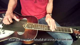 Dobro Lessons with Joe Wilson - Foggy Mountain Rock