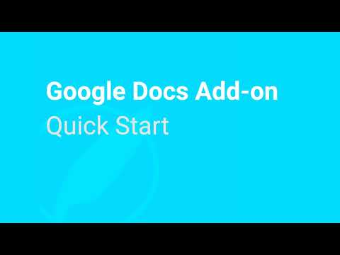 Google Docs Quick Start Guide