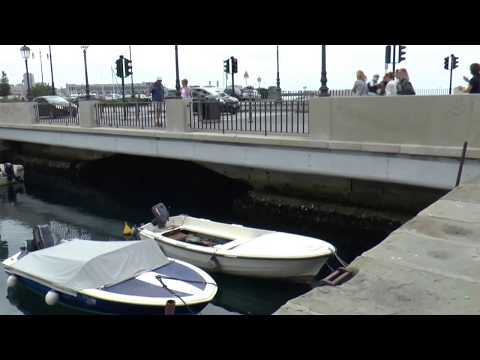 Trieste,   Italy , water canals
