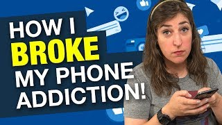 4 Tips To Break Your Phone Addiction || Mayim Bialik