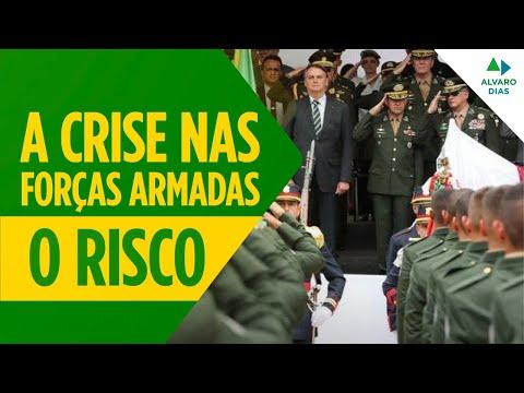 """A CRISE NAS FORÇAS ARMADAS   """"O RISCO"""""""