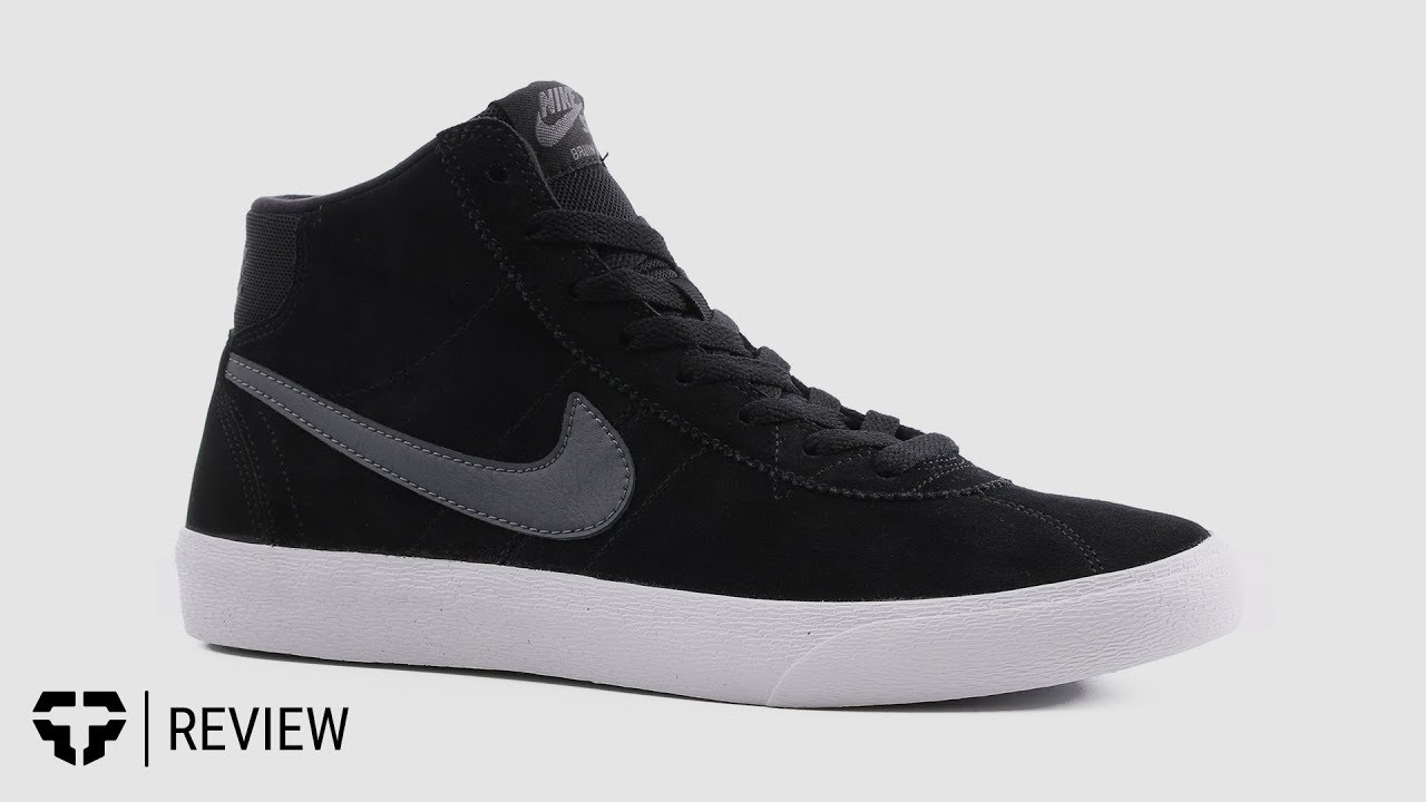 Nike SB Women s Bruin High Skate Shoe Review- Tactics - YouTube 8630824351