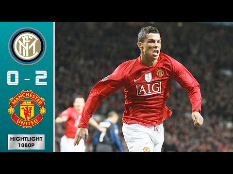 Inter Milan vs Manchester United 0-2 (agg) Highlights & Goals – Round of 16 | UCL 2008/2009