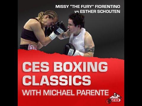 CES Boxing Classics : Fiorentino vs Schouten