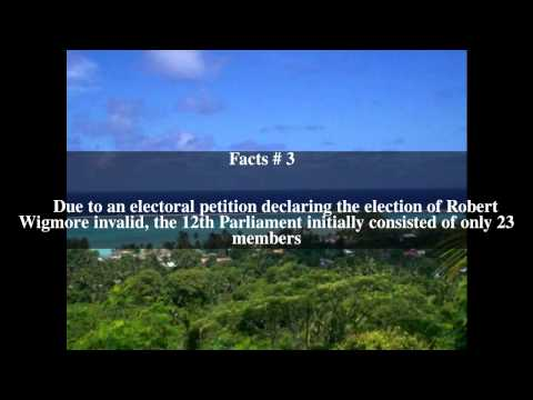 12th Cook Islands Parliament Top # 5 Facts