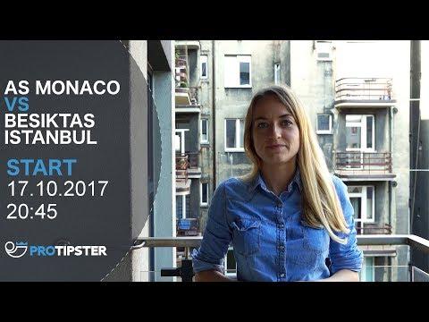 Liga Mistrzów Typ AS Monaco - Besiktas Istambuł na 17.10.2017