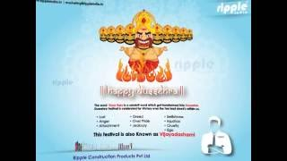 RIPPLE DUSSEHRA WISHES English Version