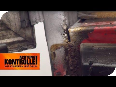 LKW-Rahmen gebrochen und Lenkzeit überschritten - Das wird teuer! | Achtung Kontrolle | kabel eins
