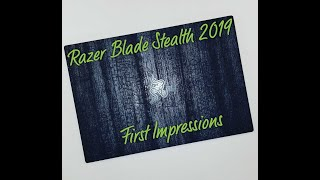 Razer Blade Stealth 2019: Ridiculous Power Throttling (Performance