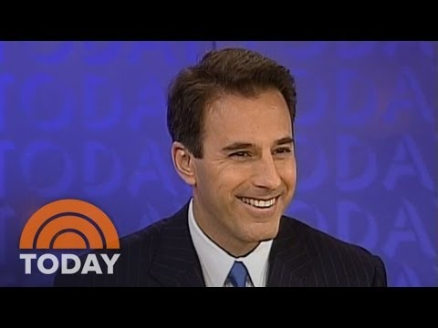 Matt Lauer's First TODAY Broadcast | Archives | TODAY