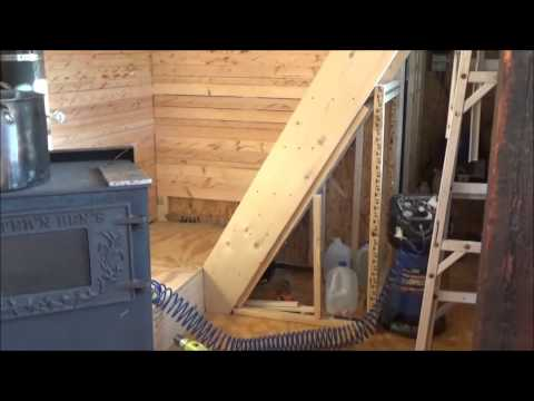 Using Reclaimed Lumber For Homemade Tiny Home Paneling